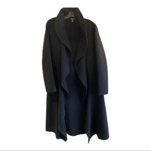 DKNY women's wool coat fits like medium